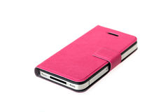Pink Smartphone Cover Royalty Free Stock Images