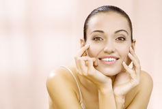 Pink smile Royalty Free Stock Photography