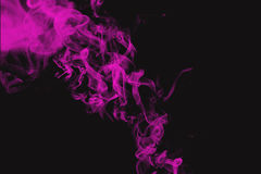 Pink smoke Royalty Free Stock Photo