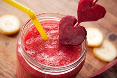 Pink Smoothie Stock Photo