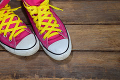 Pink sneakers Stock Photo
