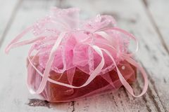 Pink Soap Bar Stock Photos