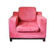 Pink sofa Stock Image