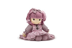 Pink soft doll Royalty Free Stock Photos