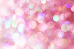 Pink soft lights abstract background Stock Photography