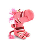 Pink soft toy Royalty Free Stock Image