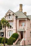 Pink Southern Home Royalty Free Stock Image