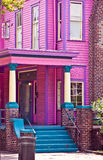 Pink Southern Mansion Royalty Free Stock Images