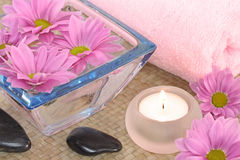 Pink spa Royalty Free Stock Images
