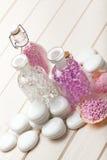 Pink Spa - aromatherapy minerals Stock Photo