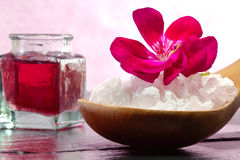 Pink spa concept Royalty Free Stock Photography