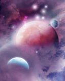 Pink Space Dream Royalty Free Stock Images