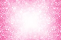 Pink Princess Glitter Background Birthday Party Baby Girl Invite