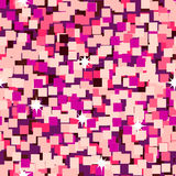 Pink sparkle glitter seamless background Royalty Free Stock Photography