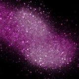 Pink sparkle lights background Stock Images