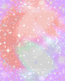 Pink sparkle starry background. A sparkling twinkling background for your designs Stock Images