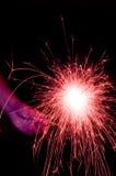 Pink Sparkler Stock Images