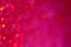 Pink Sparkly Background Texture. Dynamic, pink glitter bokeh background texture Stock Photography