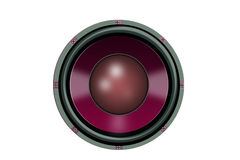 Pink Speaker Royalty Free Stock Images