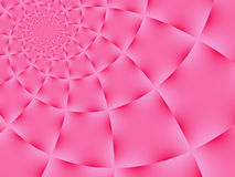 Pink Spiral Background Stock Photography