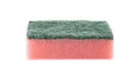 Pink sponge Stock Photo