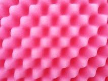Pink sponge background Stock Photography