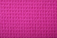 Pink sponge foam as background texture Stock Images