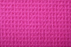Pink sponge foam as background texture. Pink kitchen sponge rubber foam as background texture stock photography