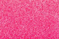 Pink sponge. Macro shot of the surface of a kitchen dish sponge stock photos