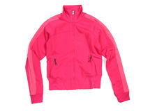 Pink sport jacket Royalty Free Stock Photos