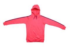 Pink sport jacket Royalty Free Stock Image