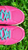 Pink Sport Shoe Stock Images