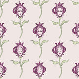 Pink spring or summer seamless pattern Stock Photography