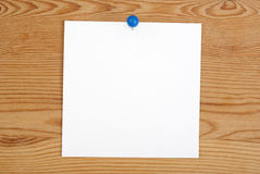 The pink square blank sheet Stock Image
