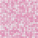 Pink square tiles seamless vector texture royalty free illustration