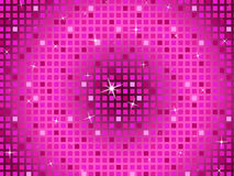 Pink Squares Background Means Twinkling Pattern And Party Royalty Free Stock Photography