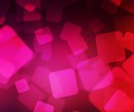 Pink Squares Bokeh Royalty Free Stock Photos