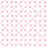 Pink squares seamless pattern. Stock Photos