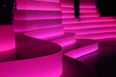 Pink stage Stock Photography