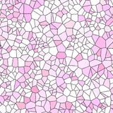 Pink Stained Glass Royalty Free Stock Photo
