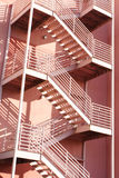 Pink Stairs Stock Images