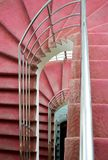 Pink stairs Stock Photography