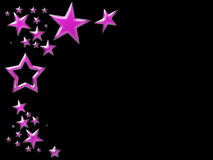 Pink star background Royalty Free Stock Photos