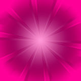 Pink starburst background Stock Photography