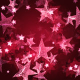 pink stars Στοκ φωτογραφία με δικαίωμα ελεύθερης χρήσης