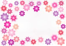Pink stars Royalty Free Stock Images