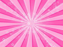 Pink Stars Background. A pink girlie background full of small stars Royalty Free Stock Photos