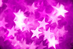 Pink stars background Stock Photos