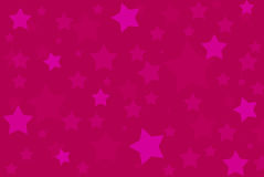 Pink stars background pattern Royalty Free Stock Photo
