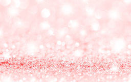 Pink Stars and Soft Focus Background Stock Photos